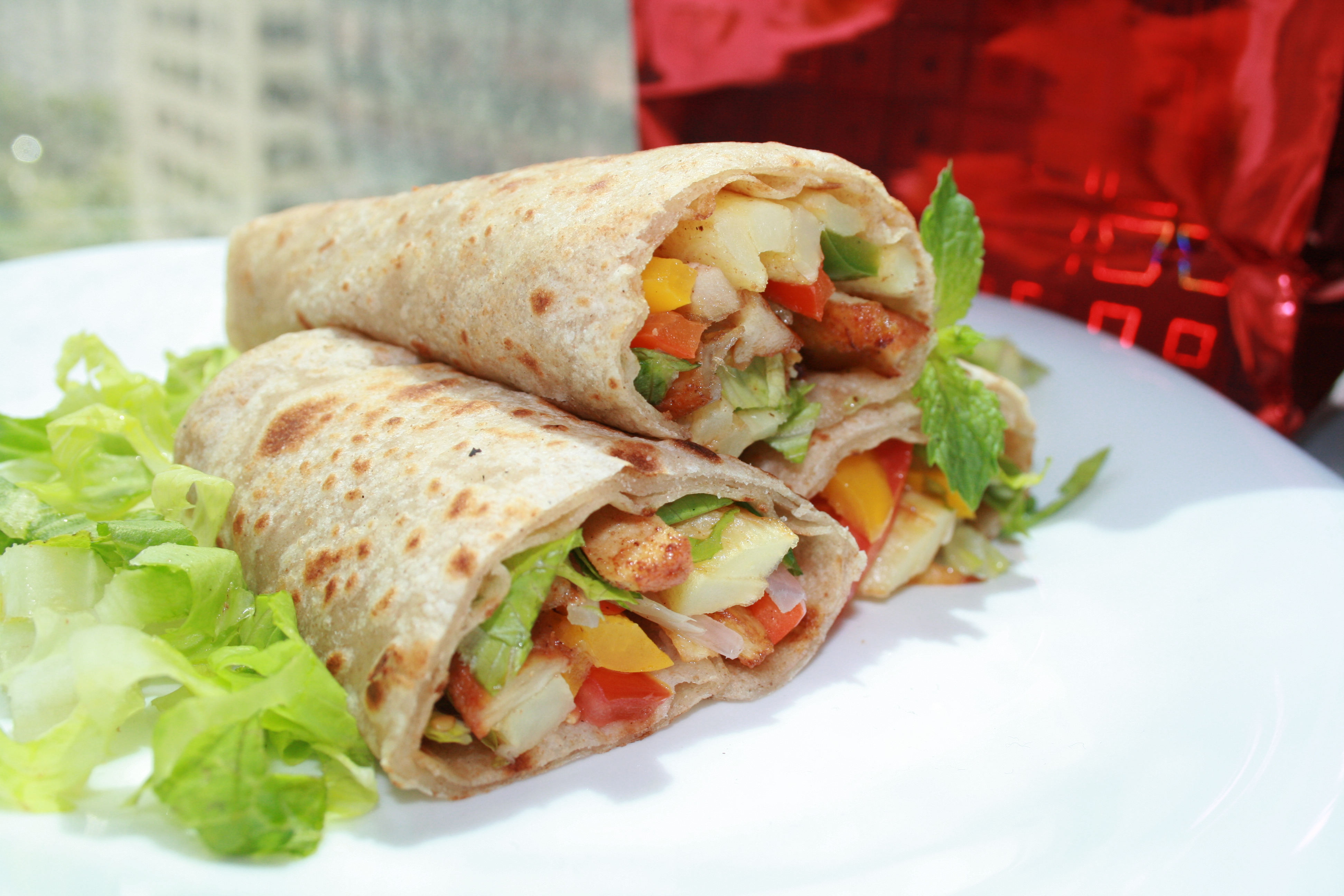Buffalo Chicken Wraps picture