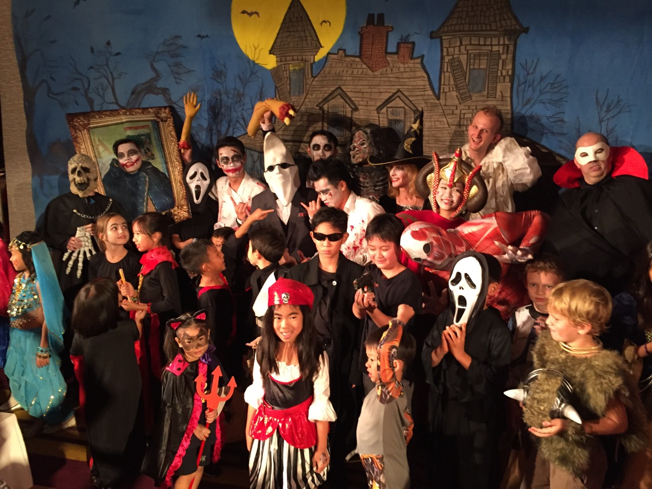 Family Halloween Party- The Enchanted Forest | American Club Taipei