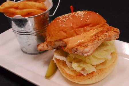 Grilled Cajun Chicken Sandwich June26 ~July 2 (2)