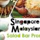 Singaporeanfood for salad bar