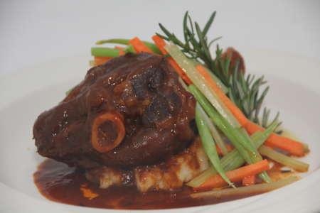 月菜Braised Lamb Shank (1)