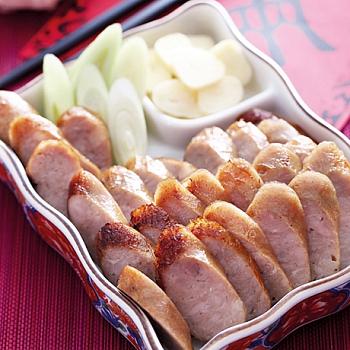 2.台灣正黑豬熟香腸