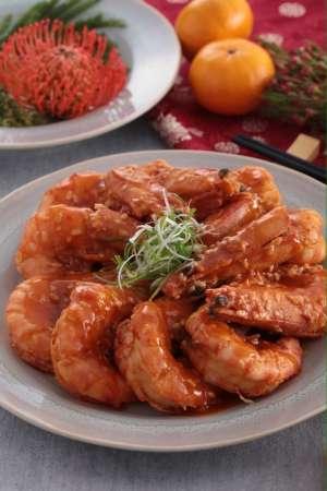 4.乾燒大蝦