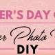 2018 Mother's Day Craft - Flower Photo Frame DIY-01