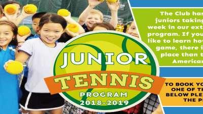 JUNIOR TENNIS PROGRAM 2018-2019-01