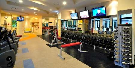 ACC Fitness Weights Area